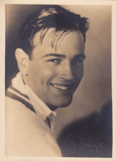 Hugh Allan, a handsome leading man of the mid to late 1920s.