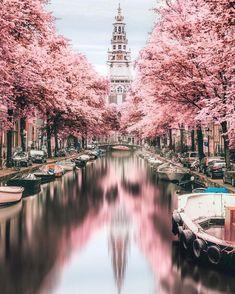 Reise nach Niederlande #beautifulplaces #photography Beautiful Places To Travel, Cool Places To Visit, Places To Go, Wonderful Places, Europe Places, Beautiful Hotels, Stunningly Beautiful, Beautiful Things, Infrared Photography