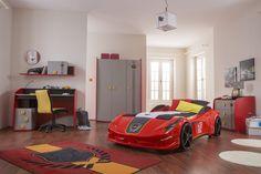 #Newjoy Vento Oda http://www.newjoy.com.tr/tr-TR/Cocuk_Odalari-p/Vento-V8-Red-49 #erkek #erkekçocuk #çocukodası #boy #kid #room #arabayatak #yatak #araba #vento #tasarım #oda