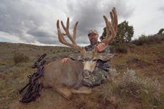 194 inch Pope and Young Mule Deer Mule Deer Buck, Mule Deer Hunting, Hunting Pictures, Wyoming, Hunts, Hobbies, Animals, Big, Animales