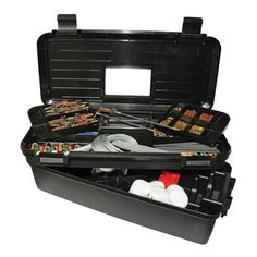 For training ops at the range, ensure minimal down time by packing cleaning gear. The Training Range Box by Otis services up to 25 firearms at one time. It contains the tools needed to properly clean from Breech-to-Muzzle®. Available in the following configurations: 5.56mm, 7.62mm, 9mm, .40 cal, or .45 cal.-Memory-Flex® cables for effective and correct Breech-to-Muzzle® cleaning without disassembly-Bronze bore brushes remove deposits and other fouling-Obstruction removal tools for jammed ...