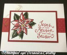 Reason for the season stampin' up! 2015 holiday catalog using ...