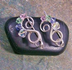 Hey, I found this really awesome Etsy listing at http://www.etsy.com/listing/121645201/swarovski-crystal-ear-pins-pastel-mix