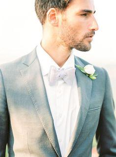 Gray groom attire: Photography: Ashley Ludaescher - http://ashleyludaescher.com/