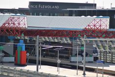Lelystad. Station Lelystad Centrum