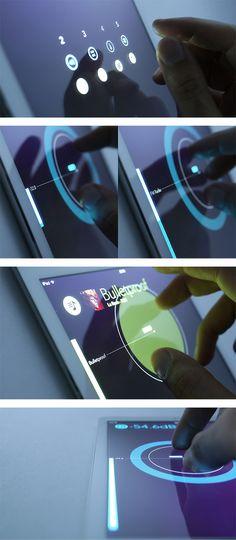 car2 Voiture et interface tactile : bienvenue dans le futur !
