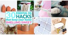 Naturally scent your home with these easy DIY diffusers and essential oil crafts.