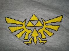 Legend of Zelda Cross Stitch Shirt