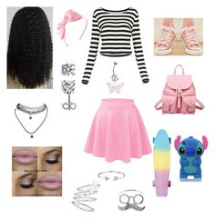 """Pastel Pennyboarding"" by princess-oli on Polyvore"