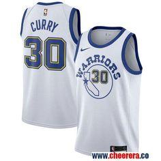 Men s Nike Golden State Warriors  30 Stephen Curry White Throwback NBA  Swingman Hardwood Classics Jersey 9b26a092ad3