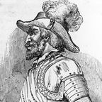 """While searching for the mythical fountain of youth, Juan Ponce de León founded the oldest settlement in Puerto Rico and landed on the mainland of North America, a region he dubbed """"Florida. Conquistador, Scouts, Puerto Rico, Unexpected Relationships, Early Explorers, Los Angeles Restaurants, Hispanic Heritage, Fountain Of Youth, Florida"""