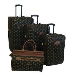American Flyer Lyon 4 Piece Luggage Set & Reviews | Wayfair