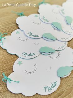 Faire-parts de naissance Nuages Boys 1st Birthday Party Ideas, 1st Boy Birthday, Theme Bapteme, Baby Cards, Baby Boy Shower, Baby Shower Invitations, New Baby Products, Wedding Decorations, Robin