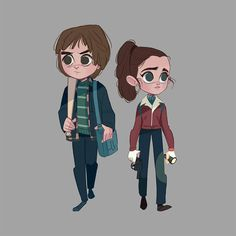 Steve and nancy stranger things movies/television arte anime, dibujos, idea Nancy Stranger Things, Stranger Things Jonathan, Stranger Things Season 3, Stranger Things Netflix, Geeks, Jonathan Byers, Jonathan And Nancy, Illustration, Chibi
