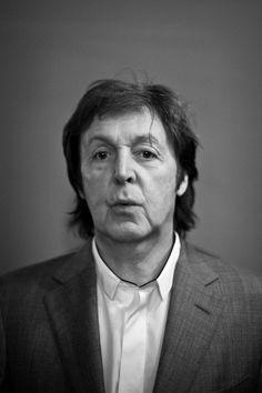 Paul McCartney. Photography by James Bort