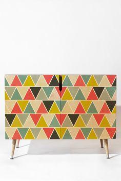 Heather Dutton Triangulum Credenza   DENY Designs Home Accessories