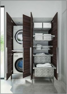 Lavanderia invisibile: come progettarla nel bagno di casa delivers online tools that help you to stay in control of your personal information and protect your online privacy. Laundry Room Remodel, Laundry Room Cabinets, Laundry Room Storage, Laundry Room Design, Bathroom Laundry, Master Bathroom, Interior Design Living Room, Living Room Designs, Drying Room
