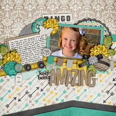 Be You: Amazing by Meghan Mullens Templates Set 150 by Cindy Schneider The Leigh & Slim Tony