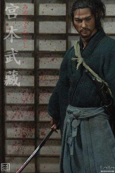 Takehiko Inoue's Vagabond: Miyamoto Musashi V1 & V2 by Lalla