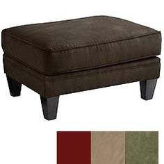 Abbie Ottoman- Chocolate (Bella and Marcus' rooms)