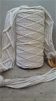 Macrame cotton rope 3mm