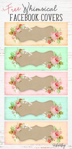 Free Whimsical Facebook Covers! - Free Pretty Things For You