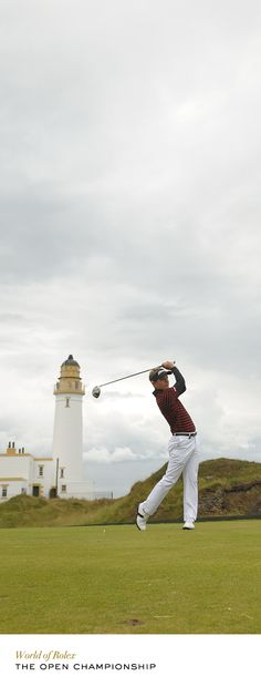 Luke Donald at The Open Championship in 2009. #Rolex #RolexOfficial