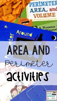 Find lots of hands on activities for teaching area and perimeter to 3rd - 5th graders in this post by The Teacher Next Door!
