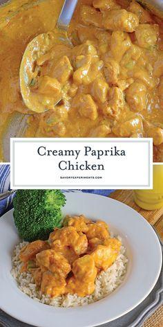 Creamy Paprika Chick