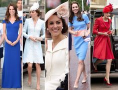 The 5-Day Duchess... We've seen 5 GR8 looks from Kate these past 5 days! I hope we see her @Ascot Pics @DailyMailUK