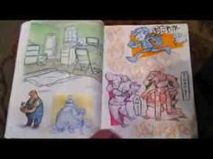 ▶ My Accepted CalArts Sketchbook - YouTube