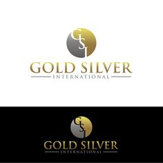Gold Silver International �20Create a Classic design for a gold and silver coin company.