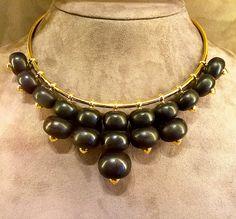 Belperron Abacus necklace Jewelry designer Suzanne Belperron