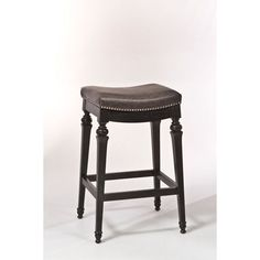 Vetrina Black Backless Non Swivel Counter Stool With Vinyl Hillsdale Furniture Counter Hei