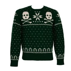 Best way to wear the traditional ski sweater. Skull Sweater, Ugly Sweater Party, Holiday Sweater, Ugly Christmas Sweater, Men Sweater, Christmas Stocking, Merry Christmas, Icelandic Sweaters, Christmas Jumpers
