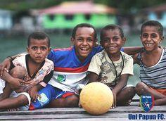 Uni Papua FC Kami melihat Bola dari sudut pandang yang berbeda. Tidak hanya dari sisi olahraga saja, Kami peduli dengan Lingkungan, Karakter, Hati & Sesama