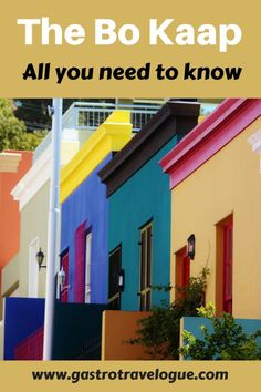 Exploring the Cape Malay Quarter or Bo Kaap in Cape Town - #southafrica, #capetown #foodie  #culture #architecture