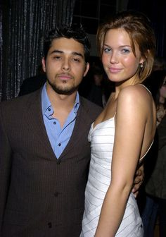 Wilmer Valderrama and Mandy Moore got romantic from 2001 to 2002.