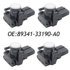 New 4PCS 89341-33190-A0 Parking PDC Sensor For Toyota Wish Camry Reiz Previa Land Cruiser Lexus 89341-33190 188300-3960 Genuine