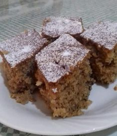 Greek Desserts, Greek Recipes, Cookie Recipes, Dessert Recipes, Pastry Cake, Food To Make, Food And Drink, Sweets, Cookies