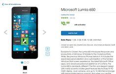 Το Lumia 650 πωλείται για 0,99 δολάρια! - https://wp.me/p3DBOw-Eqr - Το Lumia 650 είναι το τελευταίο smartphone της Microsoft που τρέχει σε Windows 10, διαθέτει mid-range προδιαγραφές και έναν εξαιρετικό σχεδιασμό.  Όταν όμως πρόκειται για την τιμή του, το Lumia 650 δεν είναι το πιο προσιτό τηλέφωνο της αγορά