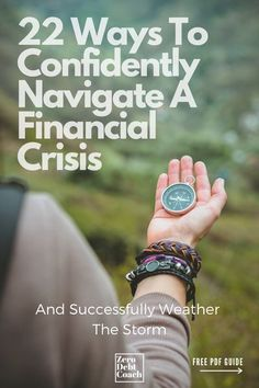 """If you're struggling during this financial crisis,  you're definitely not alone. We created this guide to be a step-by-step, no overwhelm guide, to help you successfully navigate if AND actually sort of """"trick yourself"""" into making a huge dent in your debt or toward your financial independence once the crisis subsides."""