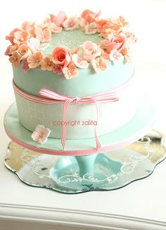 Girly Th Wine Birthday Cake