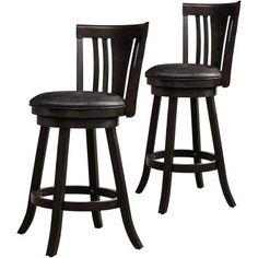 Lifestyle Solutions Rudy 29 inch Barstool, Black