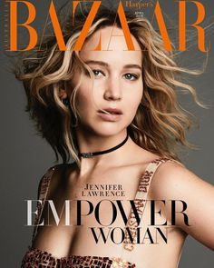 Jennifer Lawrence for Harper's Bazaar Australia - April 2018