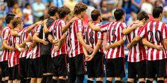 Baskische Fußballmannschaft bei einem Turnier