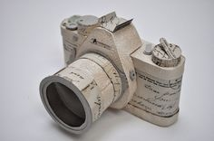 Two of my favorite things! If only my camera was made of paper. I'd love it more!