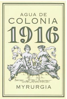 1916 Myrurgia Eau de Cologne 100 ml http://www.spanishoponline.com/1916-myrurgia-eau-de-cologne-100-ml.html# #spanish #brands