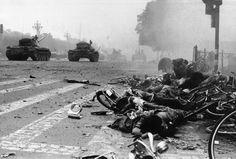 PHOTOS. Il y a 25 ans, place Tiananmen, 15 minutes d'apocalypse - Le Nouvel Observateur