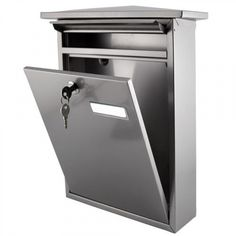 Residential Mailbo Locking Wall Mount Loch Hollywood Grey Fine Building Materials Details Pinterest Mailbox And Walls